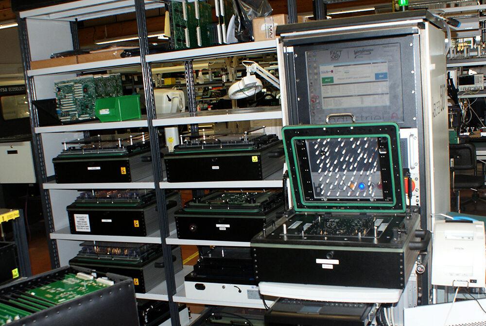 Polycaptil FCE - Électronique, optoélectronique, mécatronique - test in situ fonctionnel
