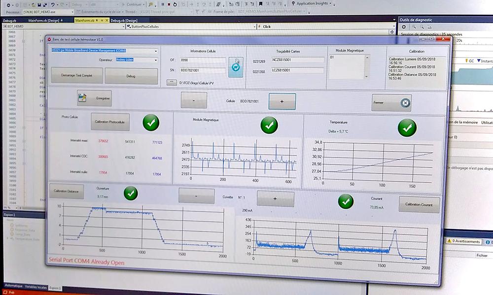 Polycaptil FCE - Électronique, optoélectronique, mécatronique - études et mise au point de bancs de test - bureau d'études