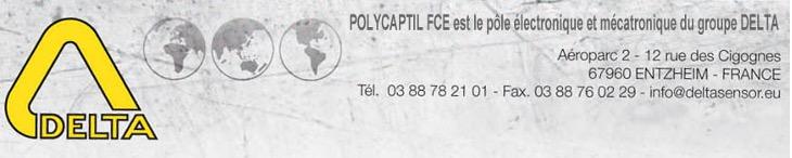 Polycaptil FCE - Électronique, optoélectronique, mécatronique - groupe Delta